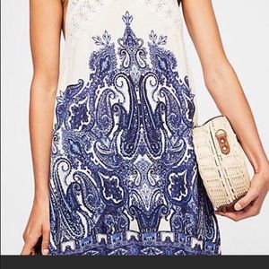 Free People Shea Printed Mini Dress
